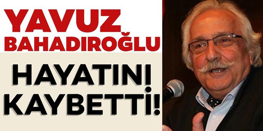 Rize Pazarlı Yazar Yavuz Bahadıroğlu hayatını kaybetti