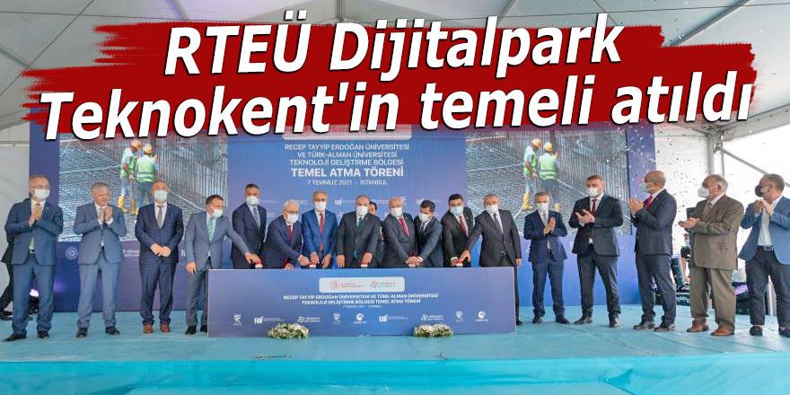 RTEÜ Dijitalpark Teknokent'in temeli atıldı