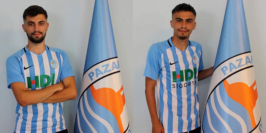 Pazarspor'a 2 transfer