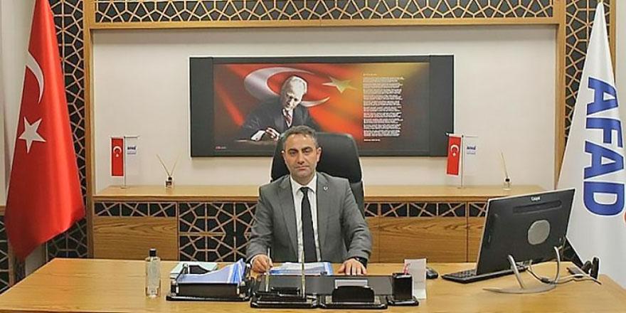 Rize'ye yeni AFAD İl Müdürü