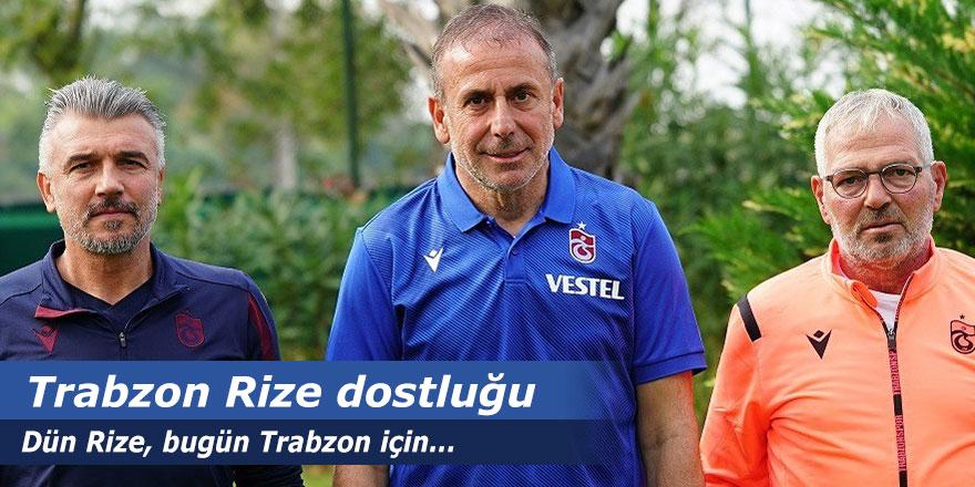 Trabzonspor - Rizespor dostluğu