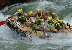 Bedava Rafting heyecanı