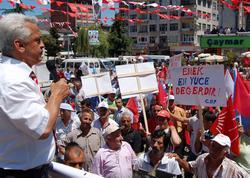 CHP adaylarının miting şoku