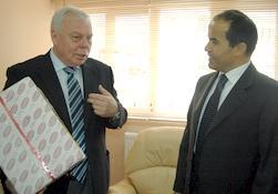 Rus Büyükelçi'den Vali'ye ziyaret