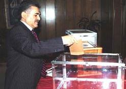 Sarp'da 530 oy kullanıldı