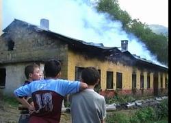 Trabzon'daki okulda yangın