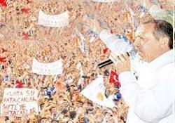 AKP, Rize'de 50 bin kişi bekliyor
