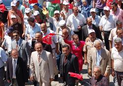 MHP'den Pazar'da iktidar yürüyüşü