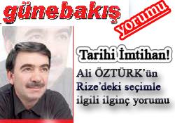 Rizeli'nin Erdoğan ve Yılmaz tercihi