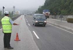 Rize'de şoförlere ceza yağdı