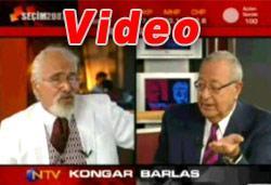 Barlas, Kongar'ı çıldırttı! VİDEO