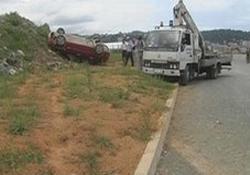 Rize'de kaza: 1 yaralı