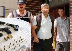 Çay paketlerinde silah kaçakçılığı!