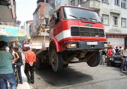 Bu da şaha kalkan kamyon!