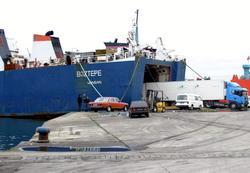 Boztepe gemisi Sochi'de yanıyor