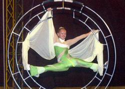 Rize'de sirk gösterisi ilgi çekti