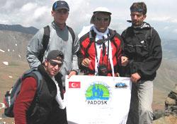 Pazarlı dağcılardan doğa yürüyüşü