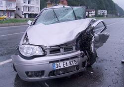 Fındıklı'da ters yön kazası: 5 yaralı