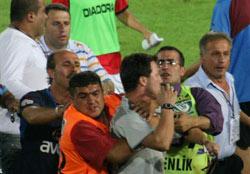 Trabzonspor'un maçı tatil edildi
