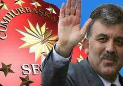 AK Parti'nin adayı Abdullah Gül