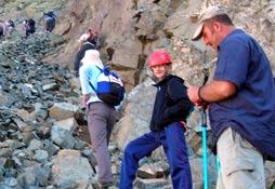 Rizeli dağcılar Verçenik zirvesinde