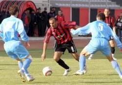 Pazarspor 1-0  mağlup oldu