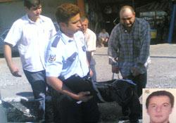Gürcistanlı kişi ölü bulundu