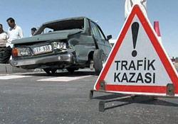Güneysu'da trafik kazası:1 ölü