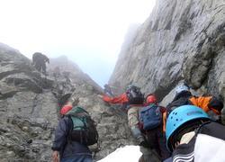 70 dağcı Verçenik zirvesinde