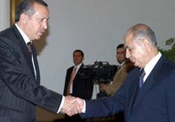Sezer, Erdoğan'a veda etti