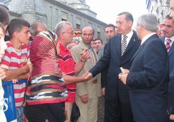 Başbakan Rize'den ayrıldı