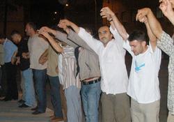 Rize'de Abdullah Gül kutlaması