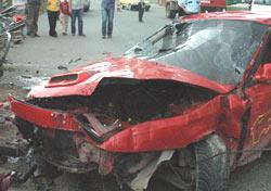 Rize'deki kazalarda 1 ölü 1 yaralı