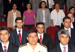 Rize'de yeni adli yıl töreni