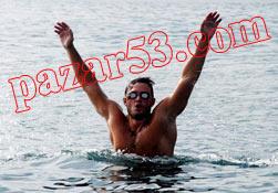Rize'den Batum'a yüzüyor!