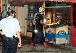 Rize'de yangın korkusu
