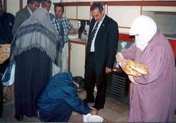 Fındıklı'da Ramazan yardımı