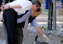 Rize'de boru tipi bomba paniği