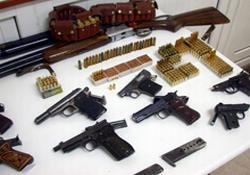 Ardeşen'de kaçak silah baskını