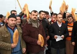 Ekmekle Ankara'ya yürüyecekler