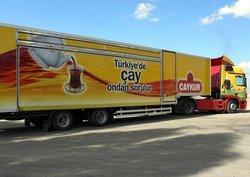 Çaykur TIR'ı Türkiye turunda