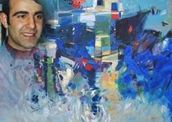 Pazarlı ressamın Ankara sergisi