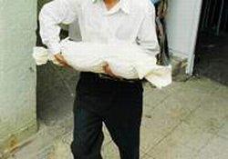 2 günlük bebek cesedi bulundu