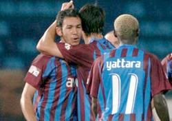 Trabzon'un galibiyet sevinci