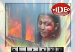 Fatih'te dehşet anları  VİDEO