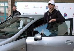 Trabzonsporlular otomobillendi!