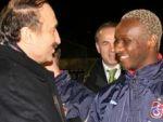 Trabzonspor'a Bakan morali