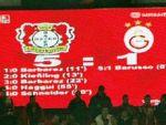 Galatasaray hezimete uğradı