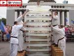 Çılgın karateciden ilginç rekor