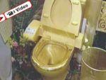 Altın WC fıkrası gerçek oldu!